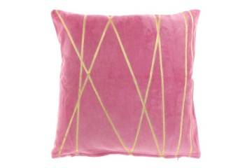 Dekoracje: Poduszka ogrodowa dekoracyjna Senza różowa