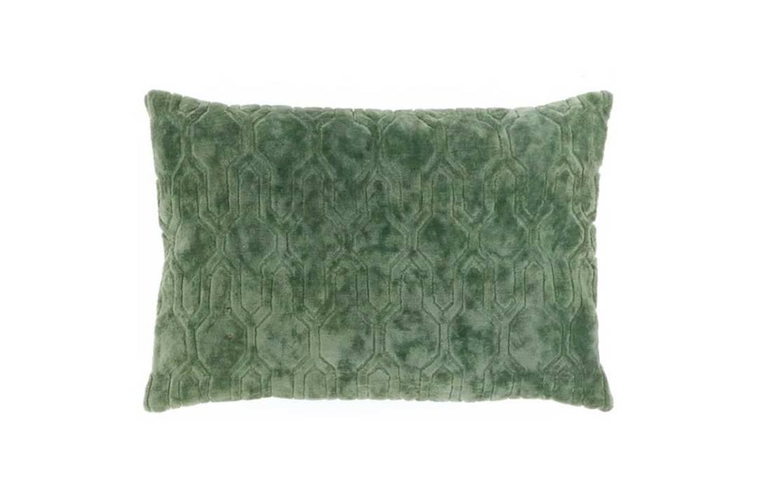 Poduszka ogrodowa dekoracyjna Rory butelkowa zieleń