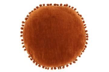 Dekoracje: Poduszka ogrodowa dekoracyjna Bila brązowa