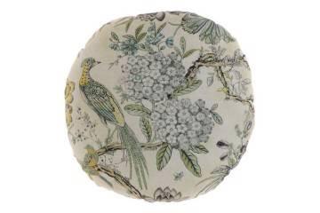 Dekoracje: Poduszka ogrodowa dekoracyjna Safira beżowa 2