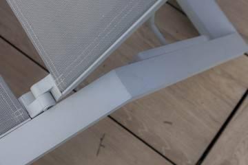 Leżak ogrodowy MURCIA light grey 683